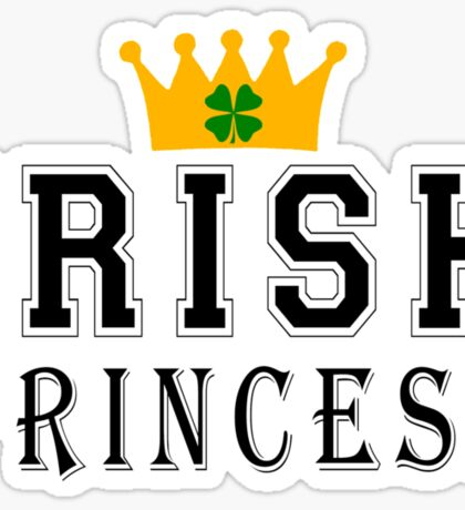 Irish Princess Sticker