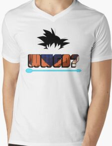 What Would Goku Do? Mens V-Neck T-Shirt