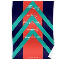 CHVRCHES The Mother We Share Lyrics Poster