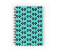 Sailor Neptune Brooch + Bow Spiral Notebook