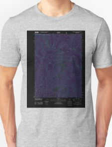 USGS Topo Map California Figurehead Mountain 20120404 TM Inverted T-Shirt