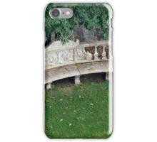 Greenery Bench iPhone Case/Skin