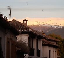 The backstreets of Granada by iainjfuller