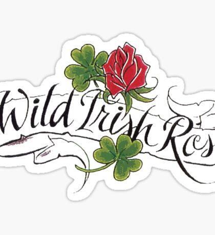 Wild Irish Rose Sticker