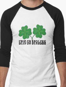 Erin Go Braless Men's Baseball ¾ T-Shirt