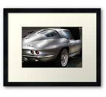 """ Silver Touch "" Framed Print"