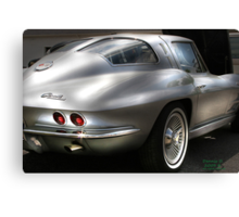 """"""" Silver Touch """" Canvas Print"""