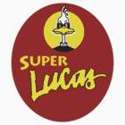 Super Lucas Sticker by Allen Lucas
