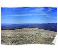 Blue Ridge View Poster