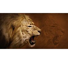 The Roar of the Lion Photographic Print