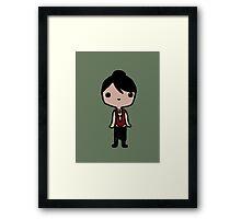 Chibi Morrigan Framed Print