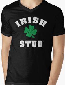 Irish Stud Mens V-Neck T-Shirt