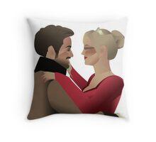 Charles & Leia Throw Pillow