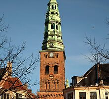 St. Nikolaj Church in Copenhagen. by imagic