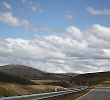 Snowy Mountains Highway by yolanda