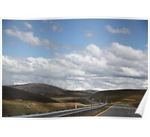 Snowy Mountains Highway Poster
