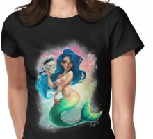 Mermaid and Sailor Womens Fitted T-Shirt