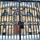 Gate to The Sheldonian by Karen Martin