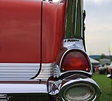 Old car tail light 3 by Karl Rose