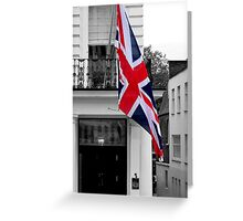 Great Britain Flag Greeting Card
