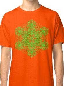 Infinity Cube Green Classic T-Shirt