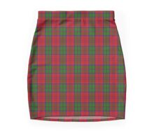 00061 Grant (Official) Clan/Family Tartan  Mini Skirt