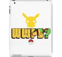 What Would Pikachu Do? iPad Case/Skin