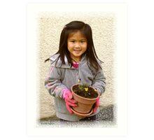 The New Gardener Art Print