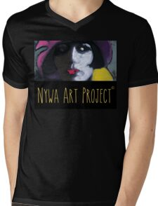 Beautiful woman - Art Mens V-Neck T-Shirt