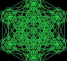 Infinity Cube Green by Tiduk