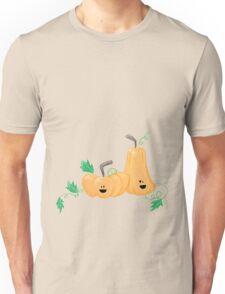 Cute Fall Pumpkins Unisex T-Shirt