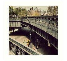 New York High Line. New York City, New York Art Print