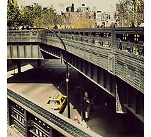 New York High Line. New York City, New York Photographic Print