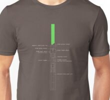 Legacy Lightsaber Schematics  Unisex T-Shirt