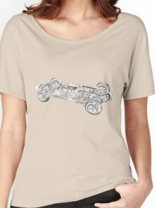 Lotus Sports car. Women's Relaxed Fit T-Shirt
