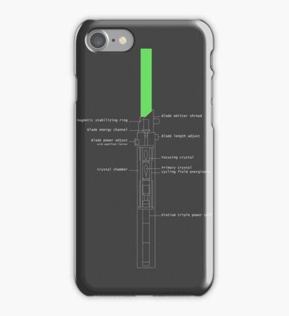 Legacy Lightsaber Schematics  iPhone Case/Skin