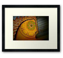 Capitol stairway Framed Print