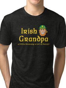 Irish Grandpa Tri-blend T-Shirt