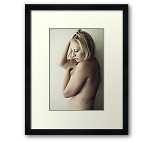 It's Been A Long December Framed Print