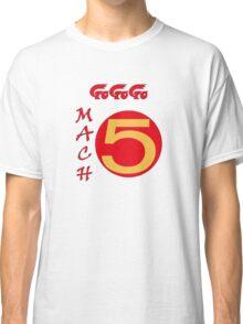 Mach 5 GoGoGo Speed Racer! Classic T-Shirt