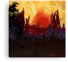 """""""Rising Sun"""" Canvas Print"""