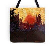 """""""Rising Sun"""" Tote Bag"""