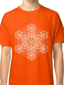 Infinity Cube White Classic T-Shirt