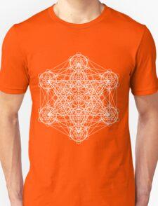 Infinity Cube White Unisex T-Shirt
