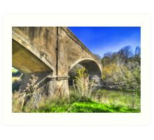 Fyansford Monier Arch Bridge- Geelong Australia Art Print