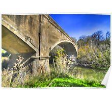 Fyansford Monier Arch Bridge- Geelong Australia Poster