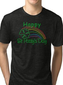 Happy St. Patrick's Day Tri-blend T-Shirt