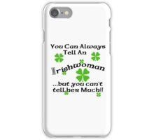 Funny Irish Woman iPhone Case/Skin