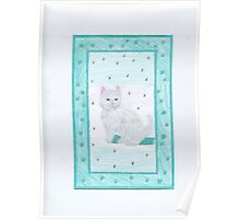 Kitten Playful Poster