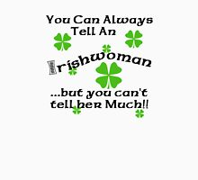 Funny Irish Woman Womens Fitted T-Shirt